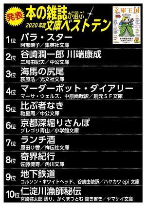 【縦】おすすめ文庫王国ベストテンランキングボード.jpg